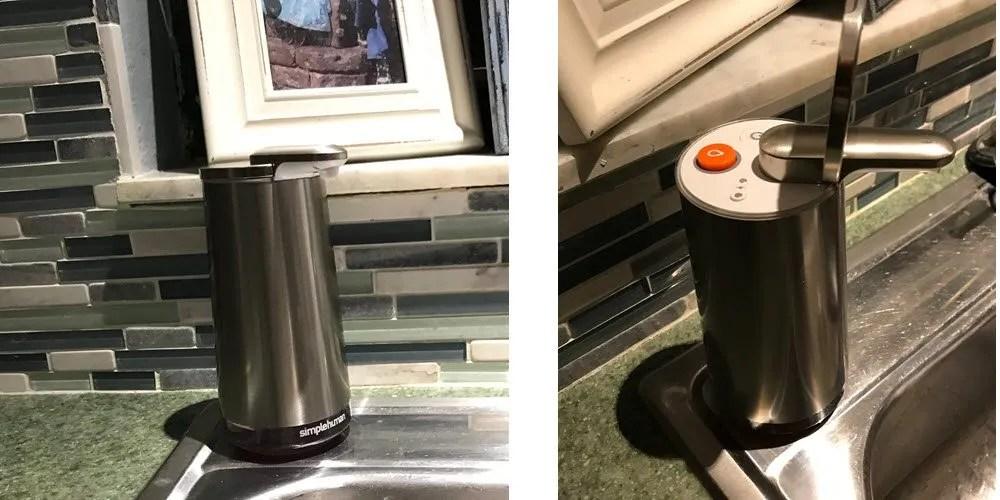 simplehuman foam pump