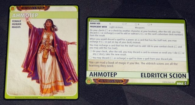Ahmotep: Eldritch Scion