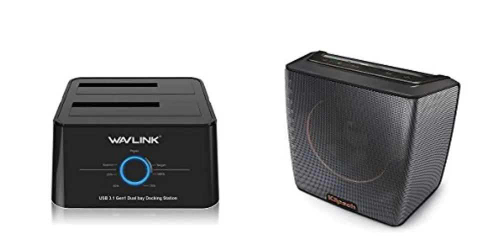 Geek Daily Deals 071517 Wavlink External Hard Drive Dock Klipsch Groove