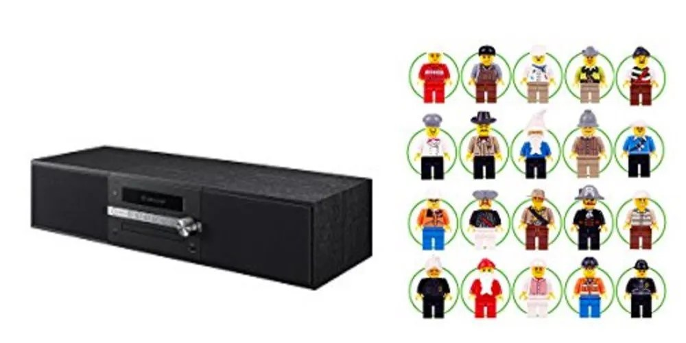 Geek Daily Deals 072217 Pioneer Stereo LEGO Minifigs