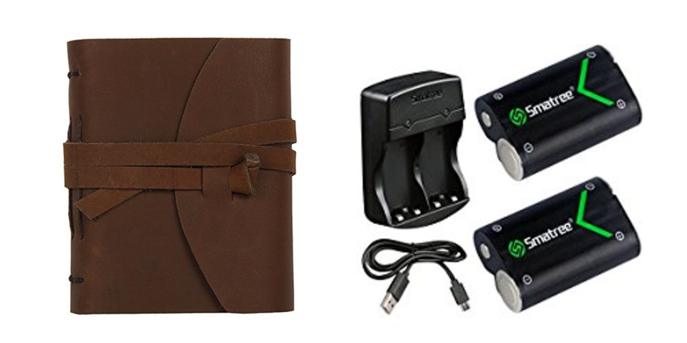 Geek Daily Deals for July 27, 2017: Leather-Bound Journals for $12-$28; Rechargeable AA Batteries for XBox