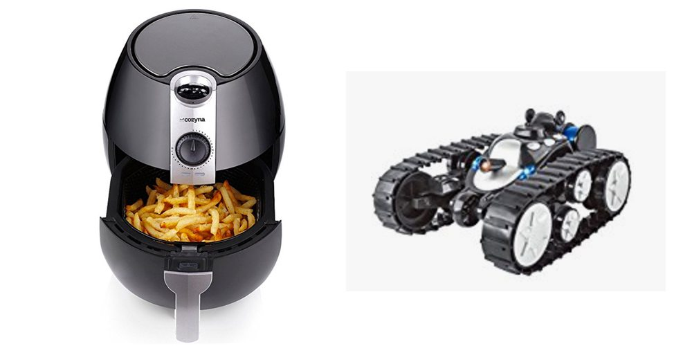 Geek Daily Deals for July 29, 2017: Air Fryer for Healthy Cooking; RC Stunt Tank for $30