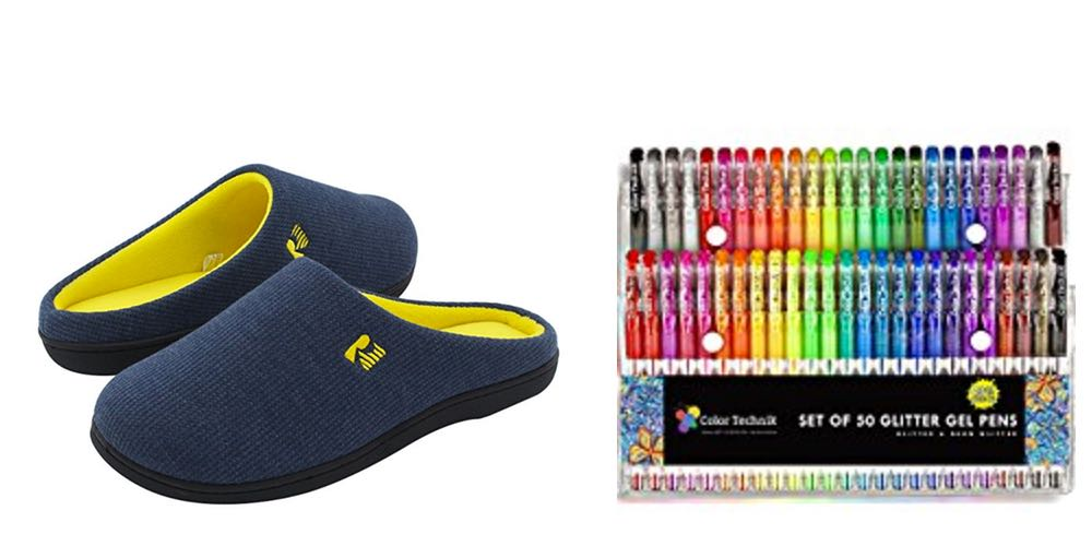 Geek Daily Deals for July 30, 2017: Memory Foam Slippers and Glitter Pens