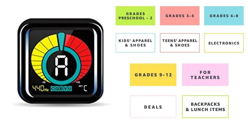 Geek Daily Deals 073117 digital instrument tuner back to school savings
