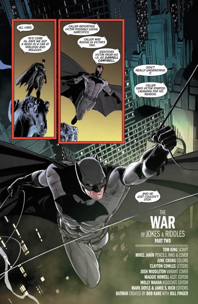 Batman #26, Tom King, Mikel Janin