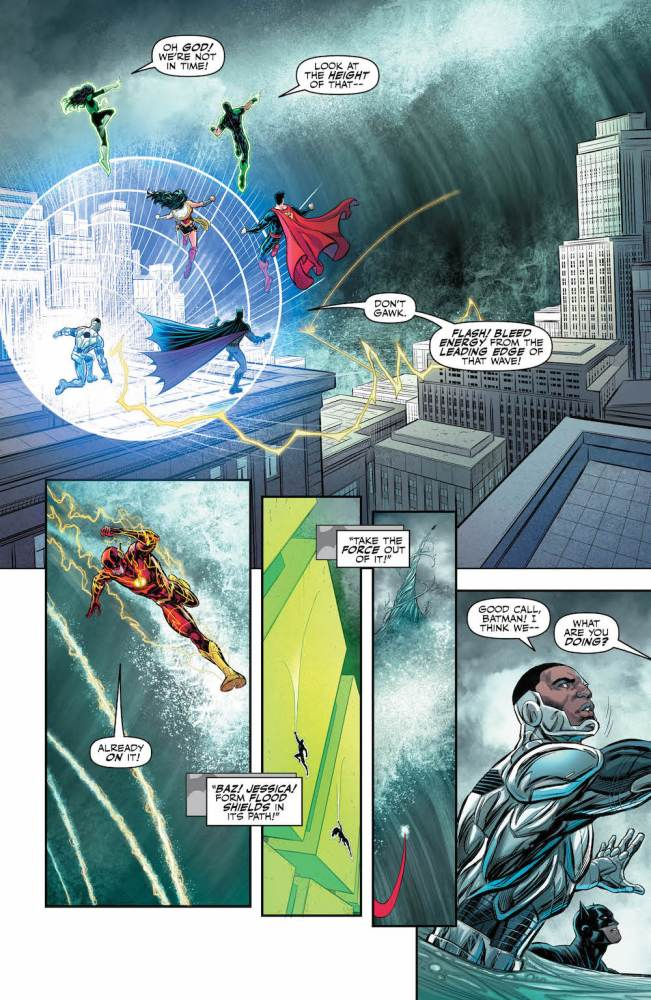 Justice League #24, Abnett