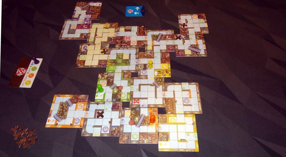 Magic Maze game in progress