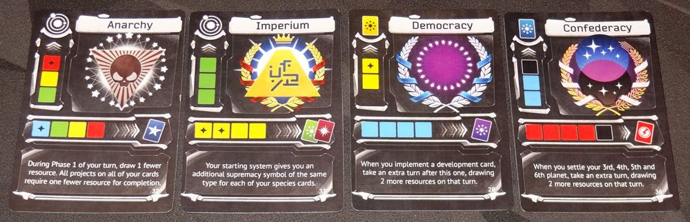 Master of the Galaxy government cards