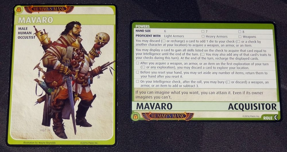 Mavaro: Acquisitor