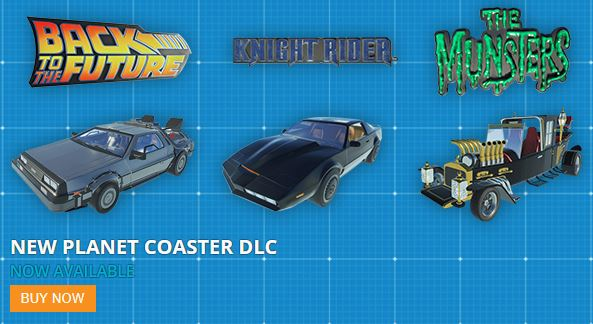 Planet Coaster DLC packs for $2.99 each