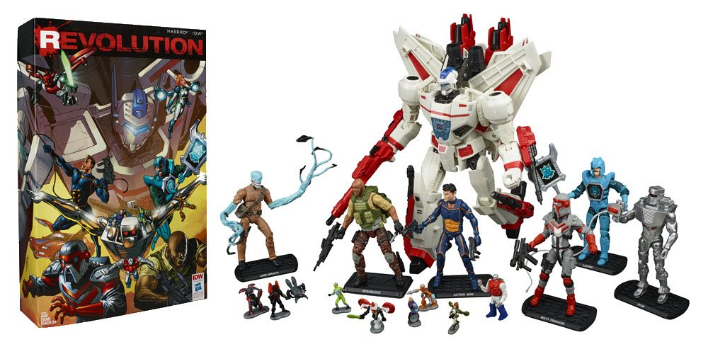 Hasbro Unveils First Visionaries Toy in Decades in SDCC Exclusive 'Revolution' Boxed Set