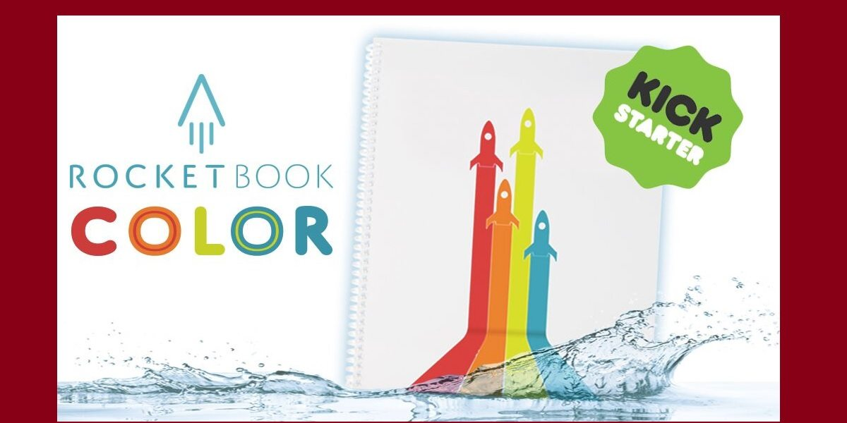Rocketbook Color notebook cover