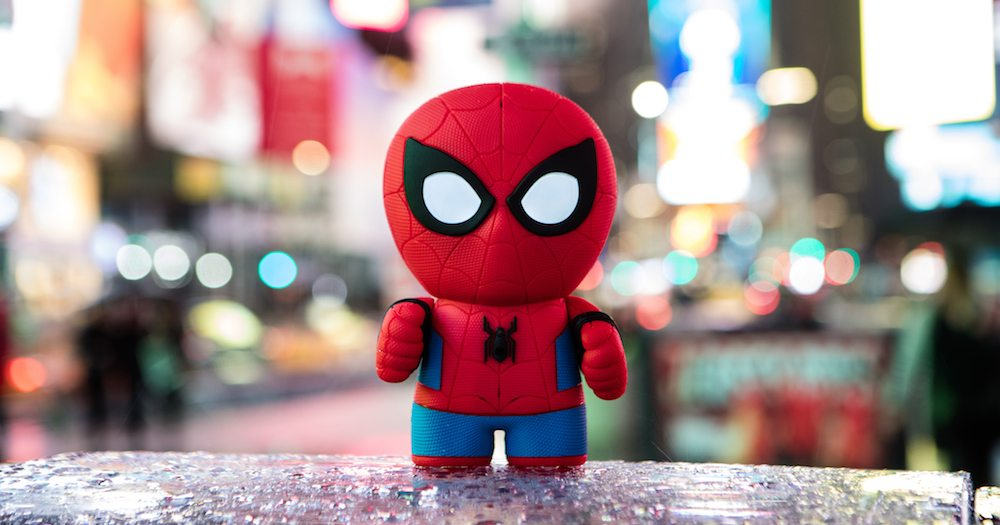 Your Friendly Sphero Spider-Man Swings in to Save Screentime