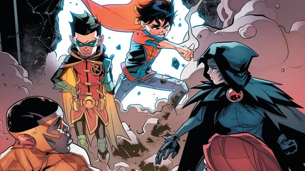 Super-Sons #6, Damian, Jon Kent