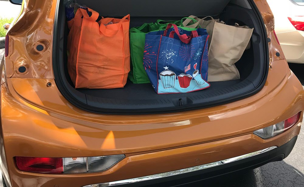 2017 Chevy Bolt Cargo