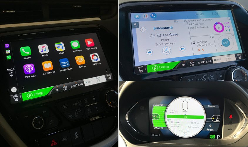 2017 Chevy Bolt UI