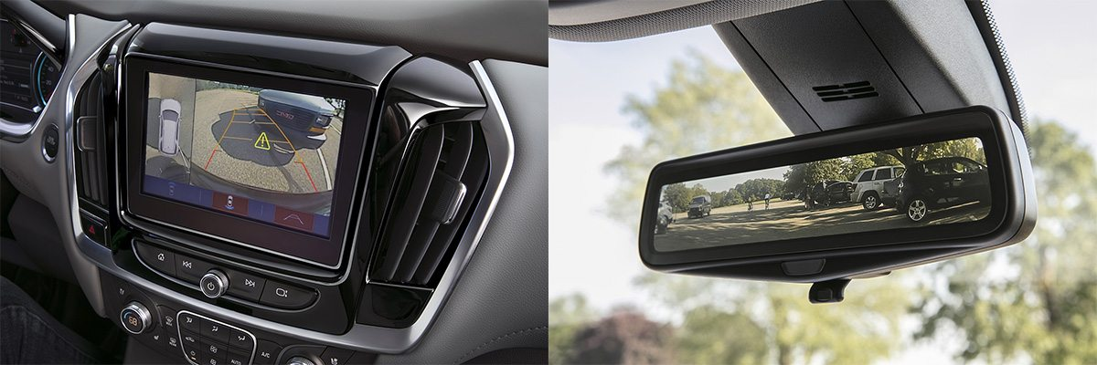 Surround Vision and Rear-View Camera System
