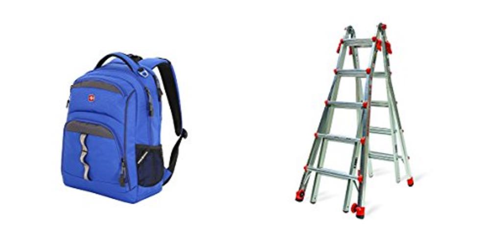 Geek Daily Deals for August 10, 2017: 50% off Backpacks and Bags; Little Giant 22′ Ladder