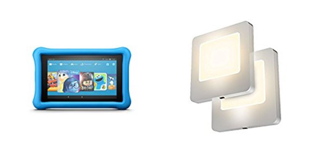 Geek Daily Deals Aug. 13, 2017: Get 20% Off Kids' Kindle Fire Tablets; 2-Pack LED Nightlights for $11