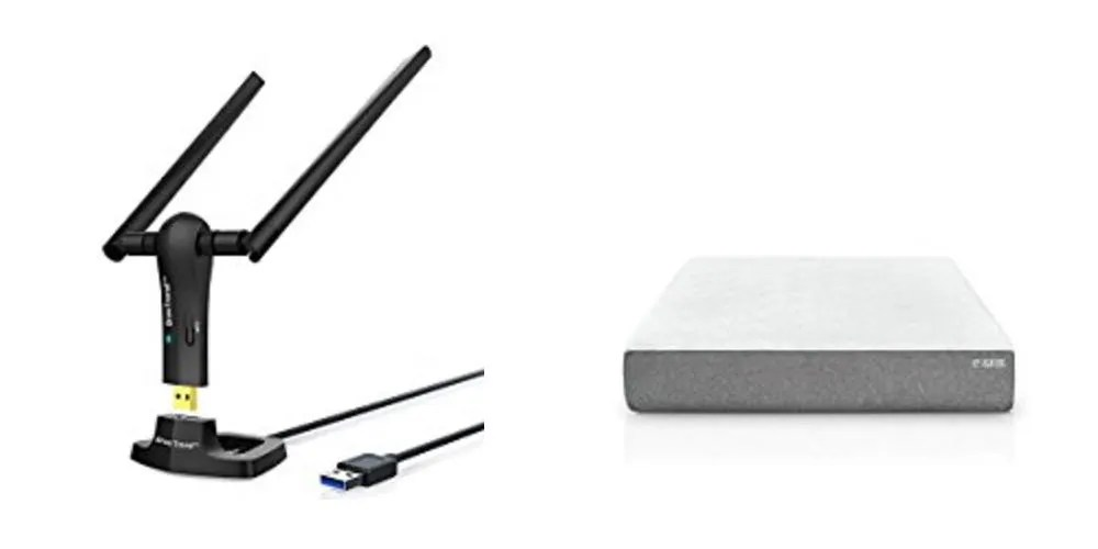 Geek Daily Deals 082717 wifi antenna gel foam mattress