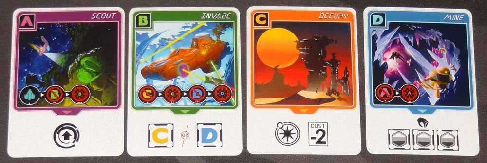 Before the Earth Explodes action cards