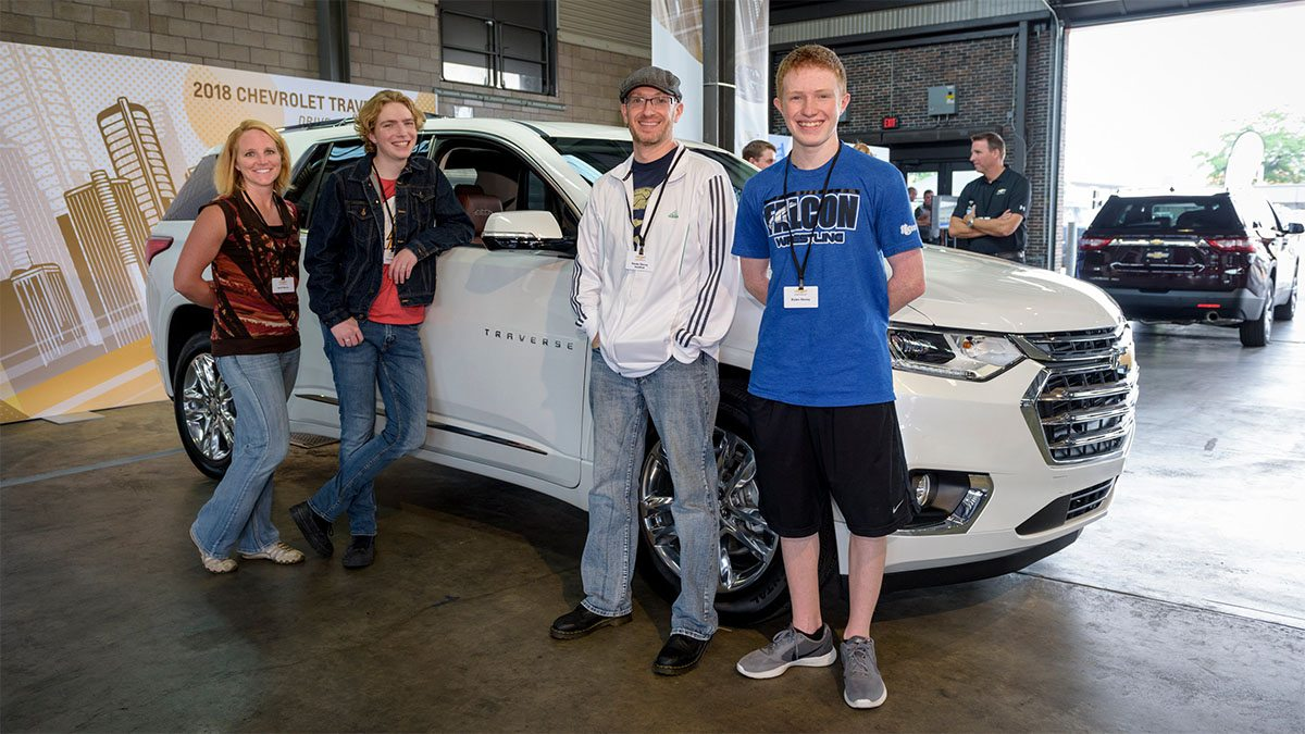 2018 Chevrolet Traverse Media Event