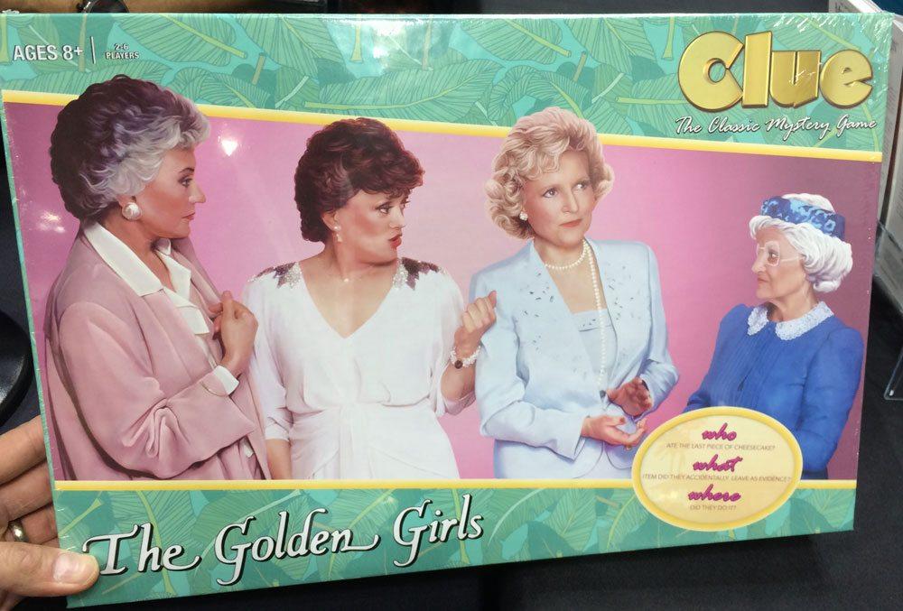 Golden Girls Clue box front