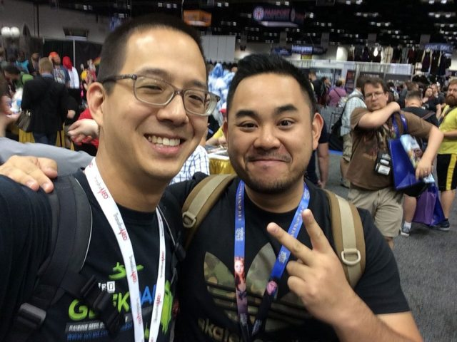 Jonathan Liu and Kwanchai Moriya