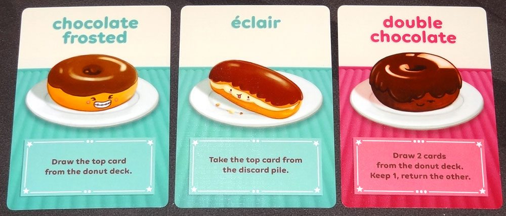 Go Nuts for Donuts card draw donuts