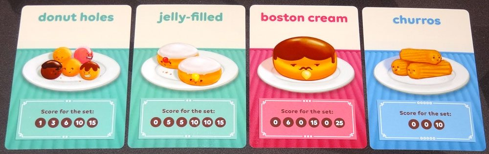 Go Nuts for Donuts set collection donuts