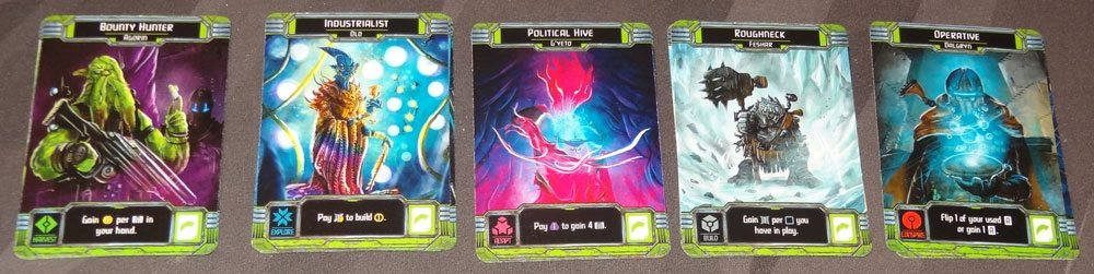 Horizons ally cards