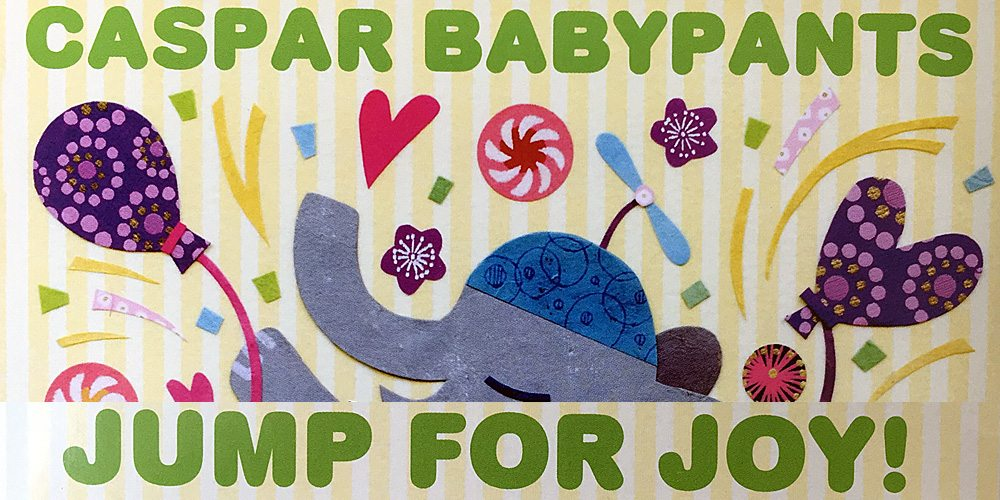 Music Review: 'Jump for Joy!' by Caspar Babypants