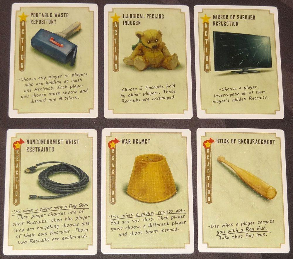 Leaders of Euphoria artifact cards