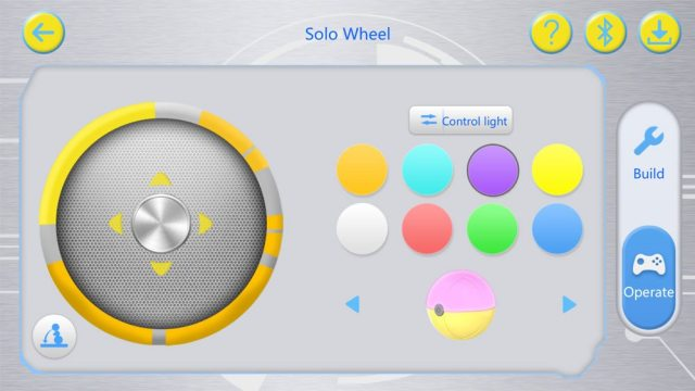 Mabot app controls
