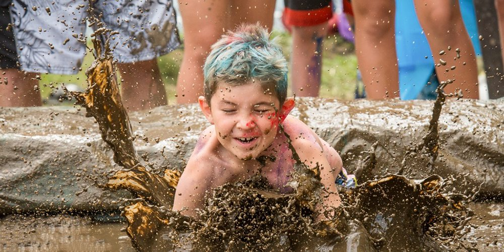 Battle Pediatric Cancer by Jumping in Muddy Puddles
