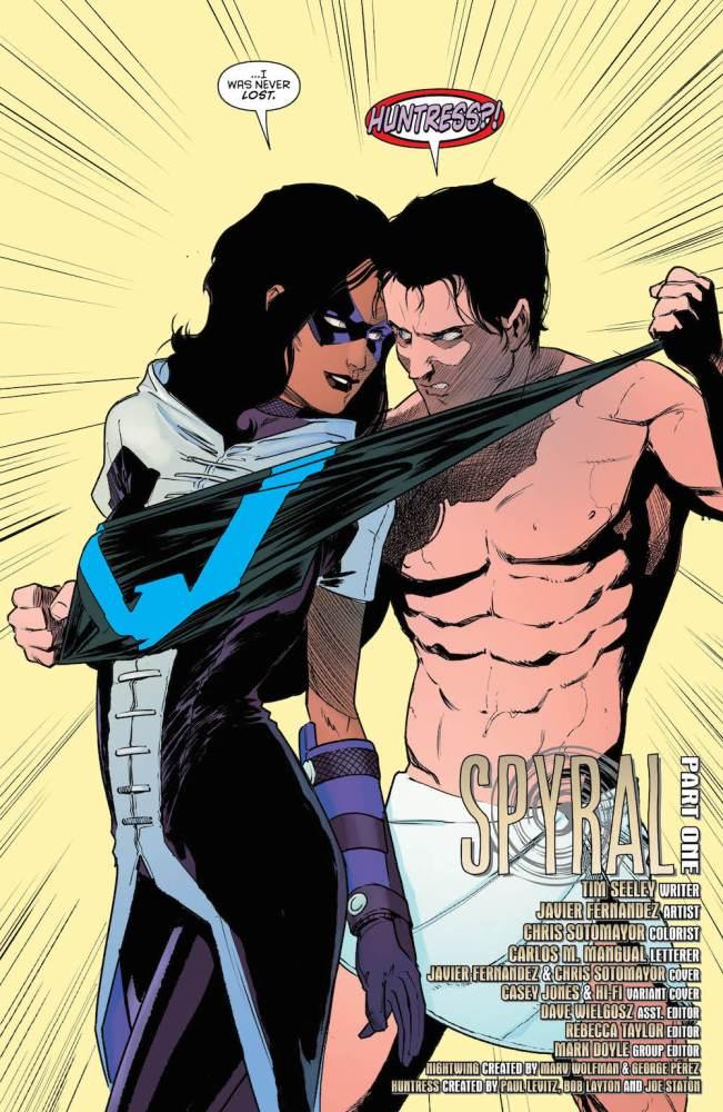 Nightwing #26, Huntress