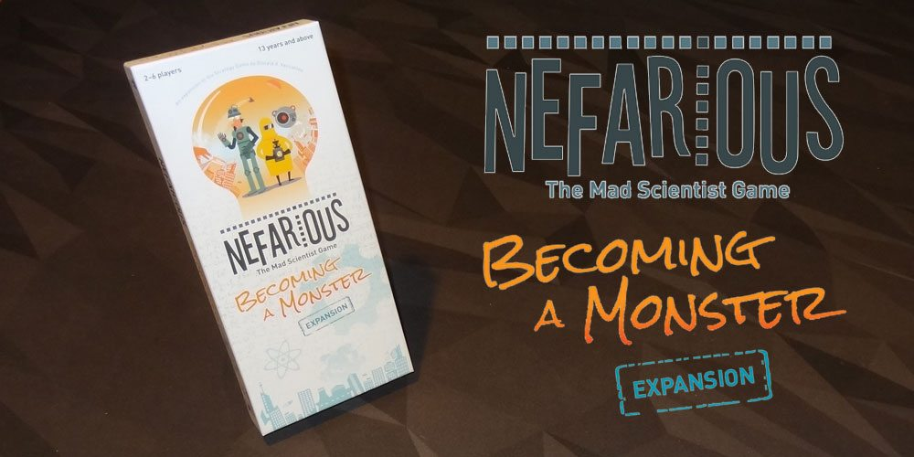 Nefarious: Becoming a Monster box cover