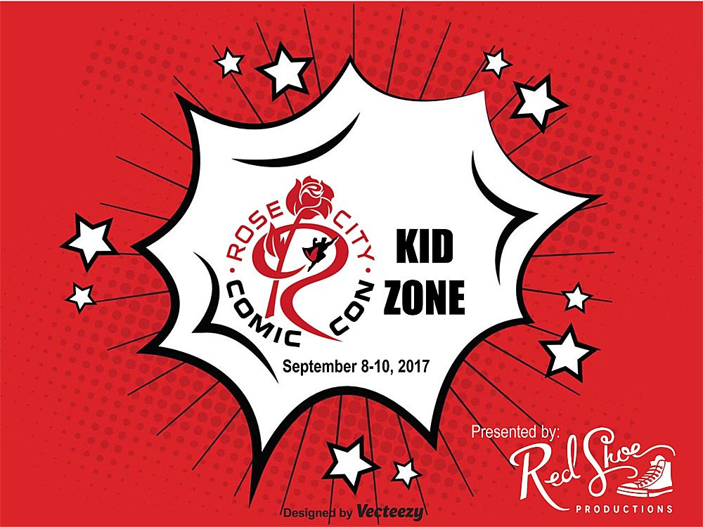 Rose City Comic Con Kid's Zone and Family Cosplay Giveaway
