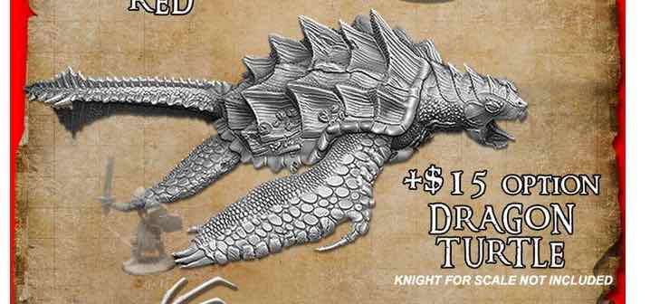 Bones 4 Dragon Turtle Add-On