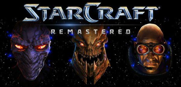 StarCraft Remastered Logo, copyright: Blizzard Entertainment