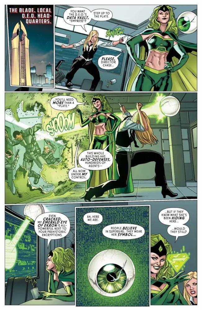 Supergirl Annual #1, 2017.