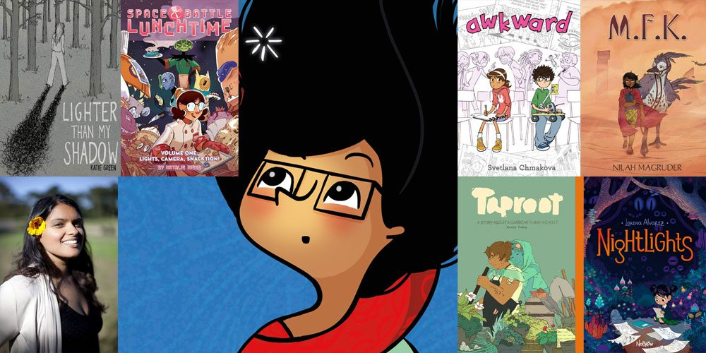 Stack Overflow: Nidhi Chanani Picks 6 Great Graphic Novels