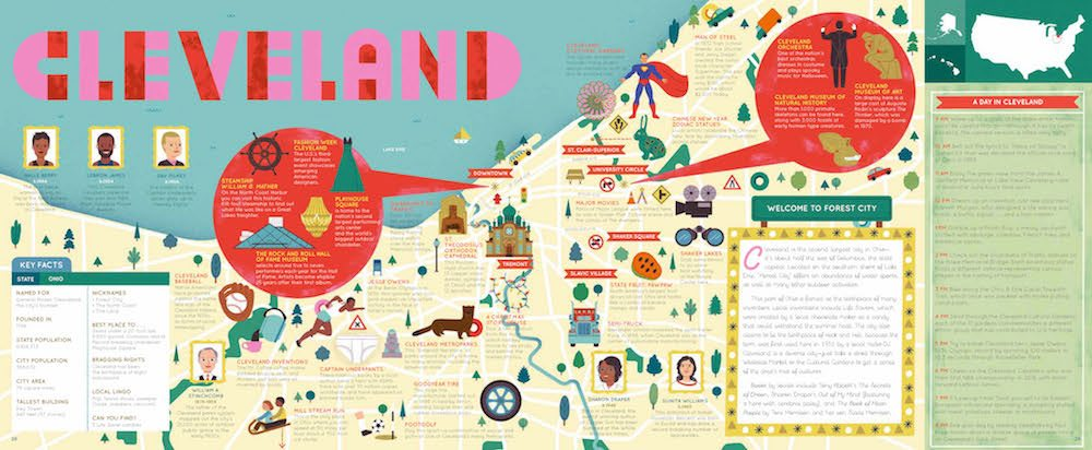 A Great Guide to Cleveland… and 49 More Cities