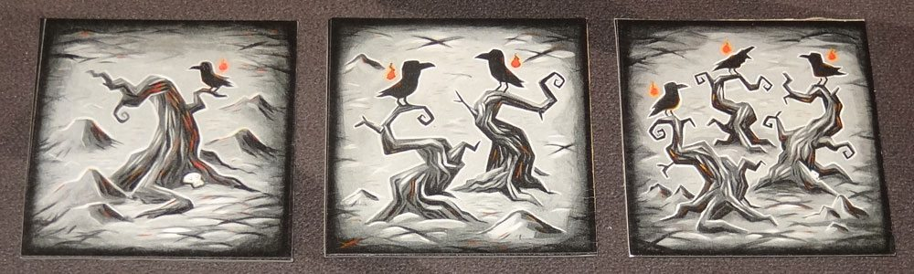 Tyler Sigman's Crows crow tiles