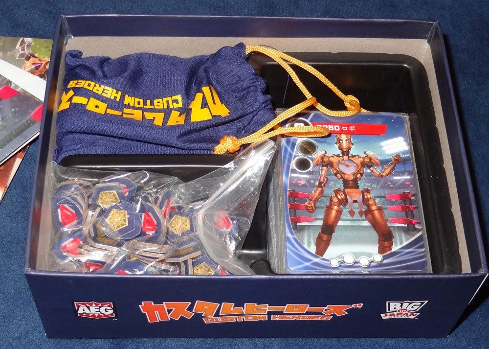 Custom Heroes box insert