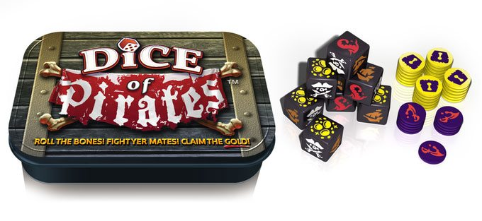 Dice of Pirates render