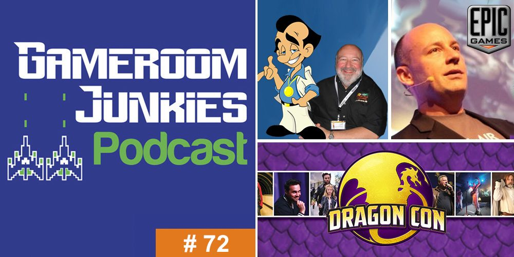 Gameroom Junkies #72: From Dragon Con With Al Lowe and Mike Capps