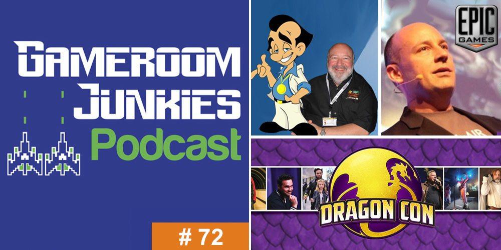 Gameroom Junkies Episode 72: Mike Capps & Al Lowe