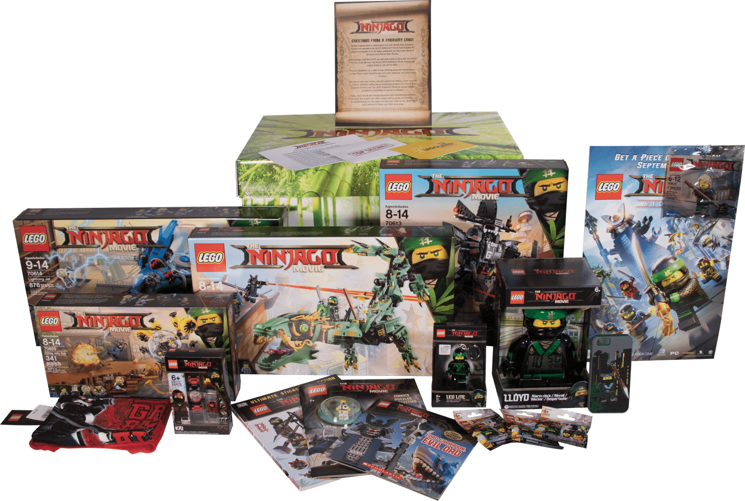 Geekdad Lego Ninjago Movie Giveaway
