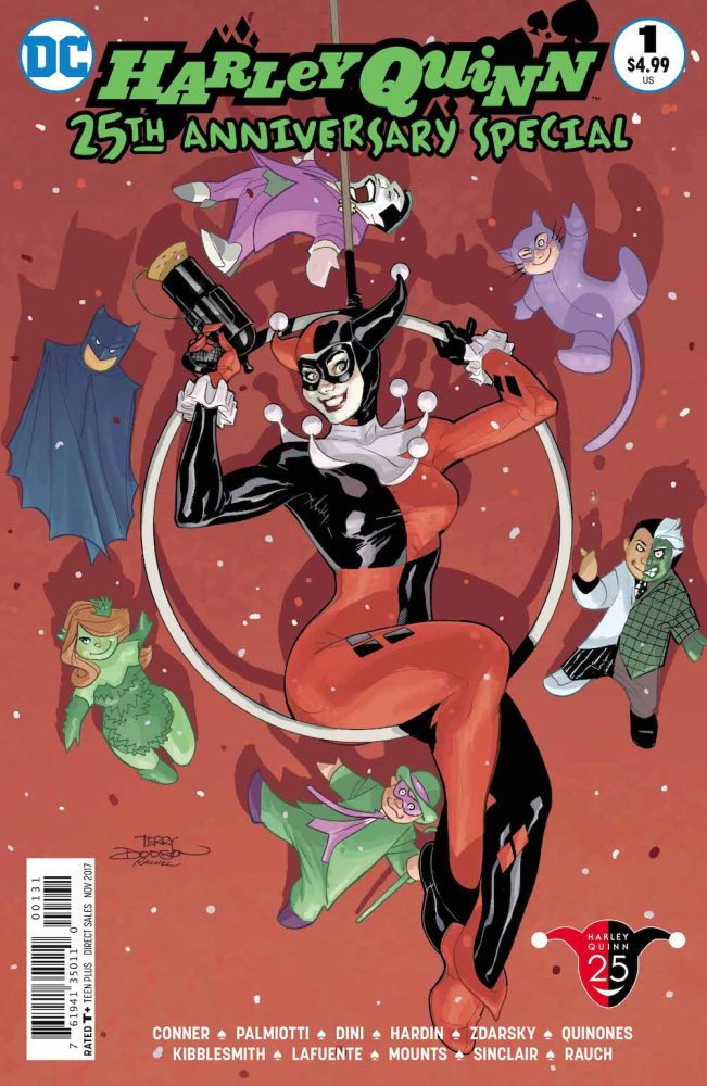 Harley Quinn 25th anniversary special cover